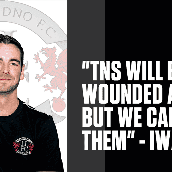 Llandudno host TNS in first home game in over a month