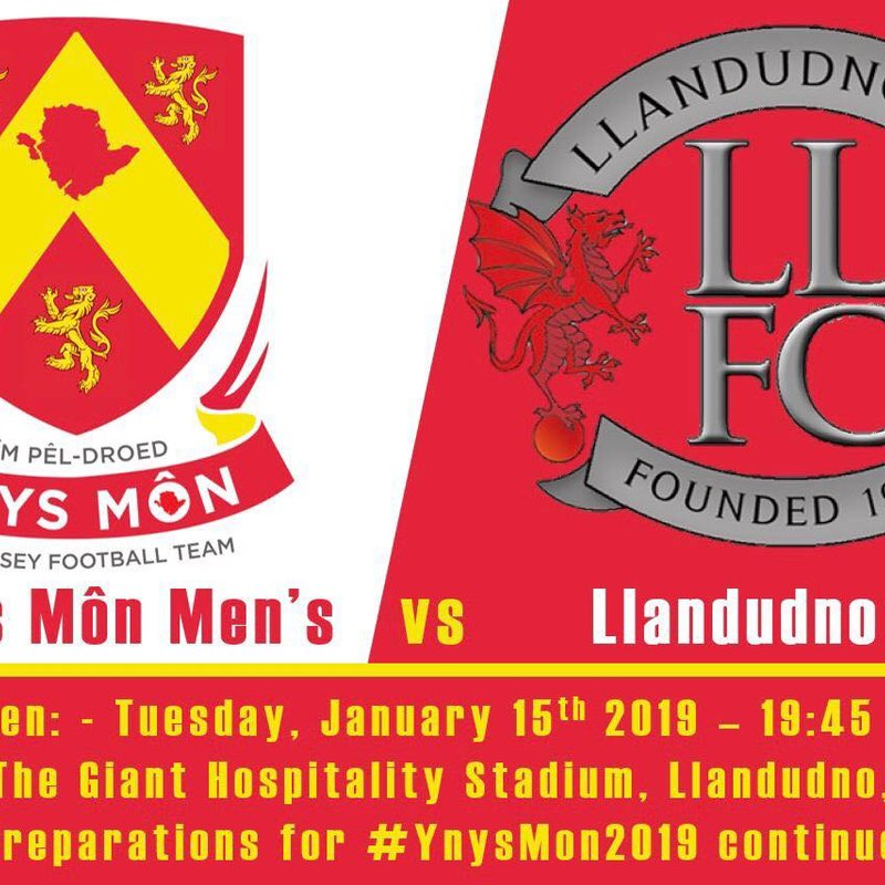 Llandudno To Host Ynys Mon In Friendly