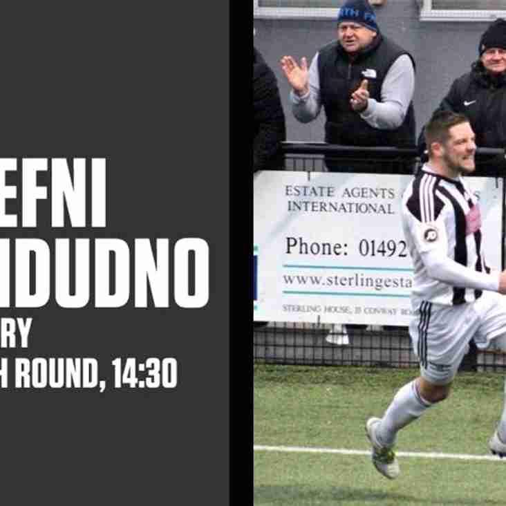 Llandudno travel to Llangefni in JD Welsh Cup tie