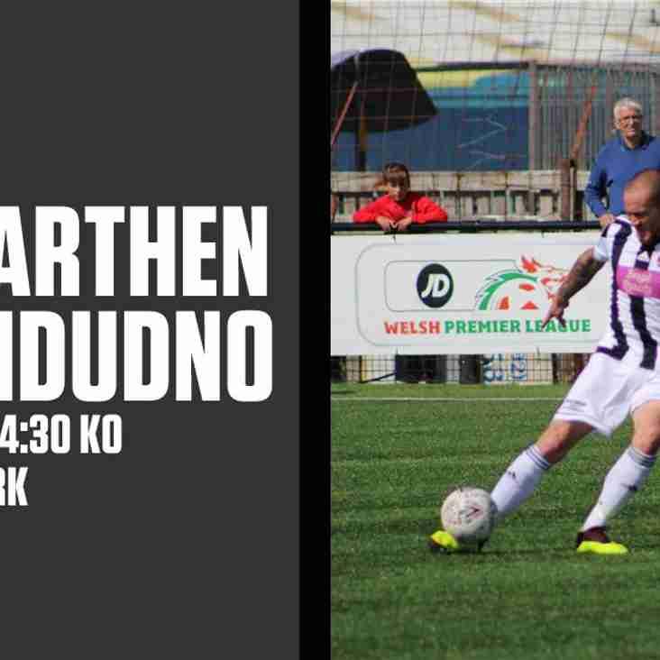 Llandudno travel to Carmarthen in must win game