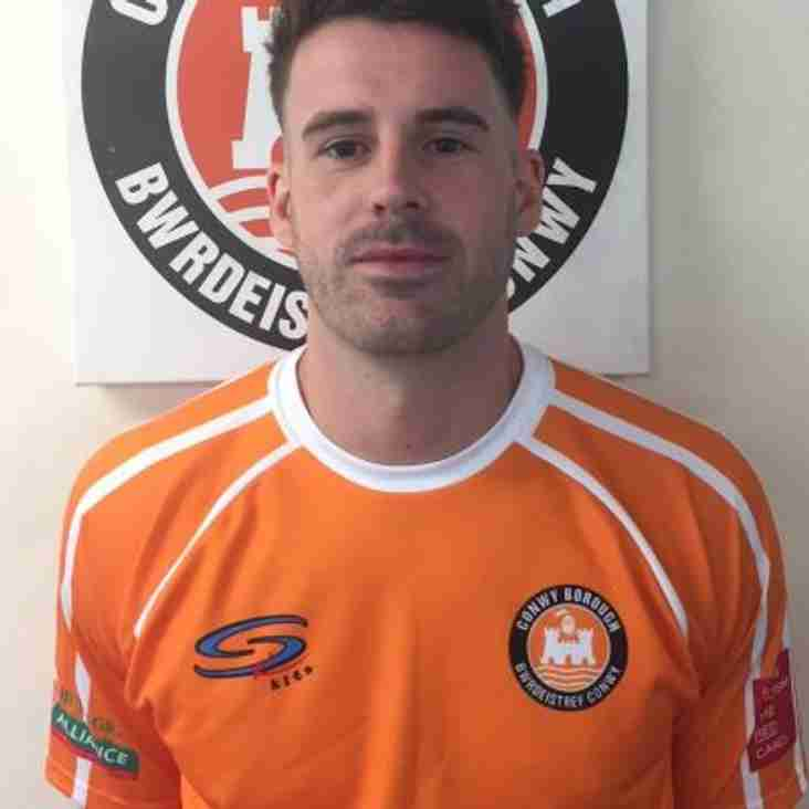 Another signing confirmed as Gerwyn Jones signs
