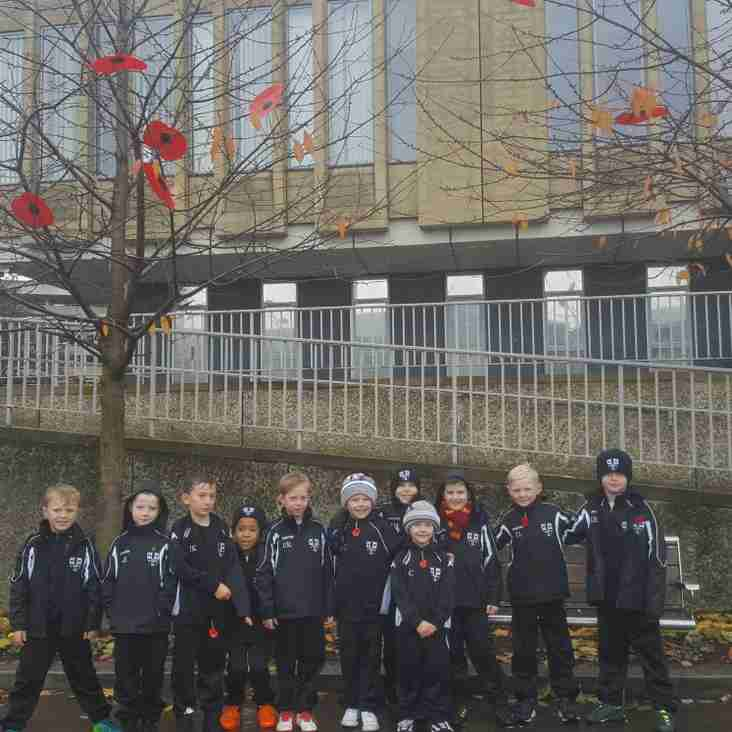 WWACF U8's Remember Our Fallen Heroes.