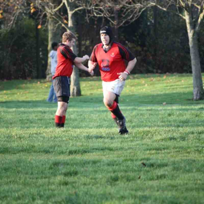 Mackie 2nds Vrs Grampian Police Oct 2011