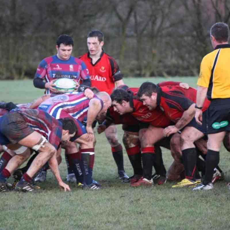 Mackie 1sts Vrs Hillfoots Jan 2012