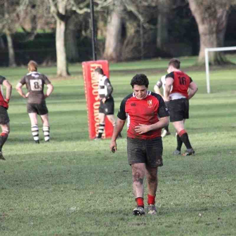 Mackie 1sts Vrs Perthshire Jan 14