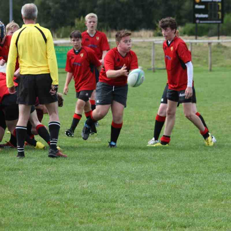 U15s Vrs Deeside Sept16