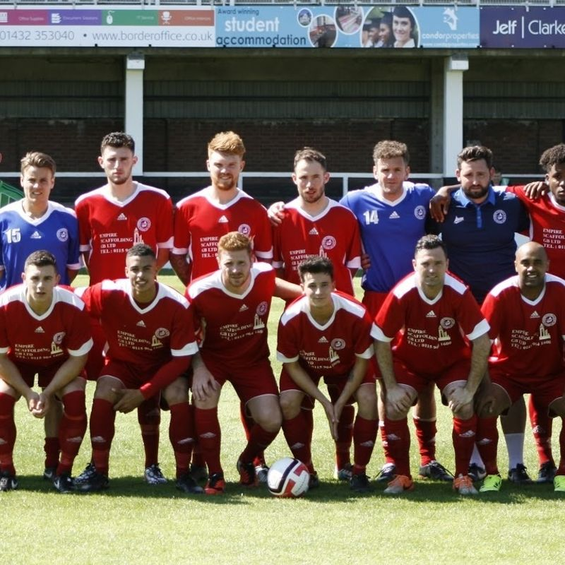 1st Team beat Coventry Sphinx 3 - 0