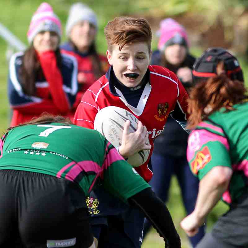 Ladies 1st XV vs Cavan