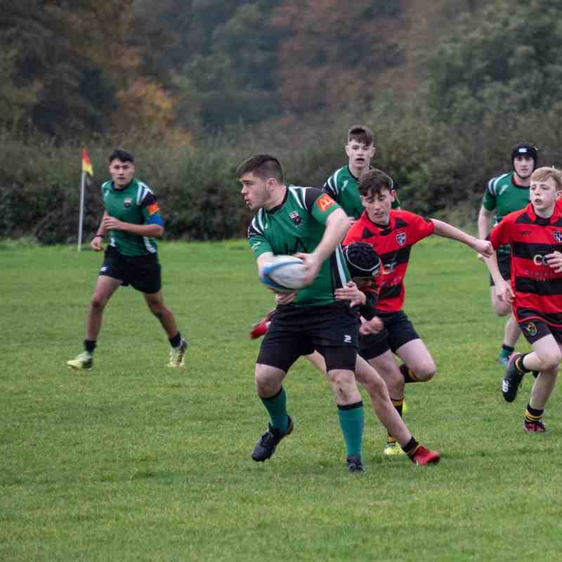 U16 vs Donegal Barbarians (20/10/18)