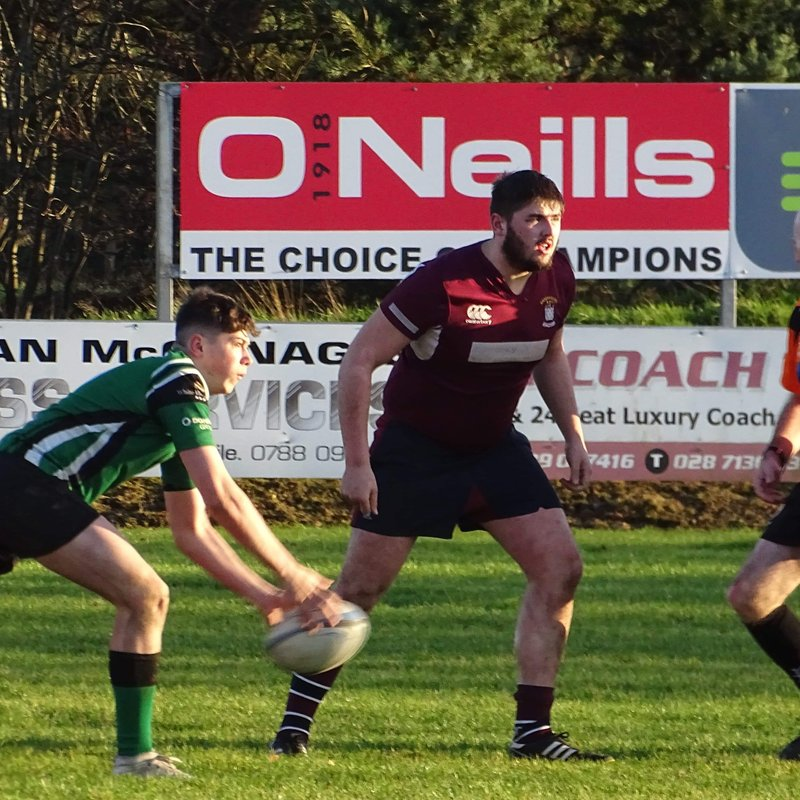 2nd XV Prevail in Top of the Table Clash