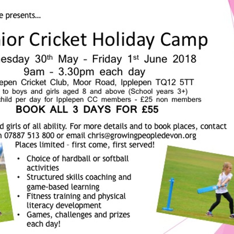Growing People Half Term Holiday Camps