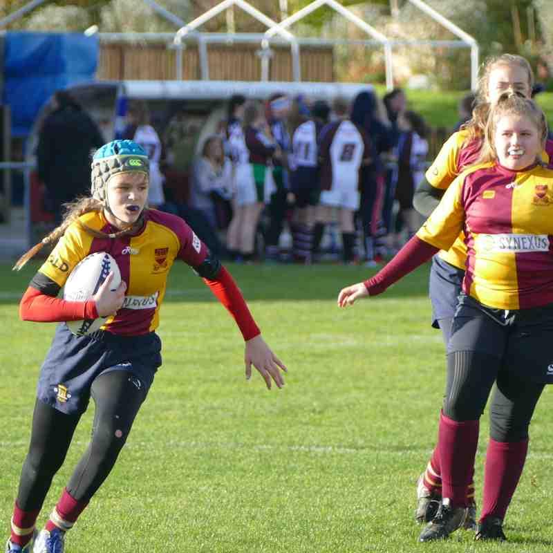 U13 Girls v Scarborough 29-10-17