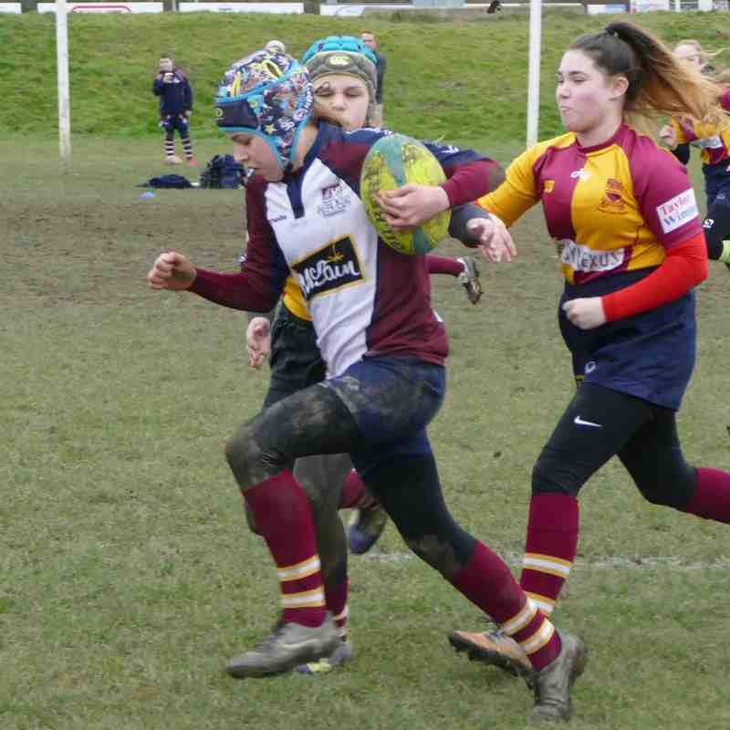 U13 Girls v Scarborough 18 Feb 2018