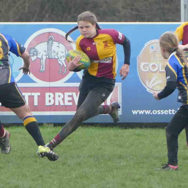 U13 Girls - Yorkshire Cup 15 April 2018