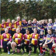U13 Girls v Doncaster+Old Brods