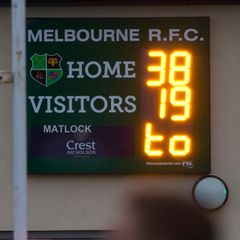 Matlock 19 v Melbourne 38