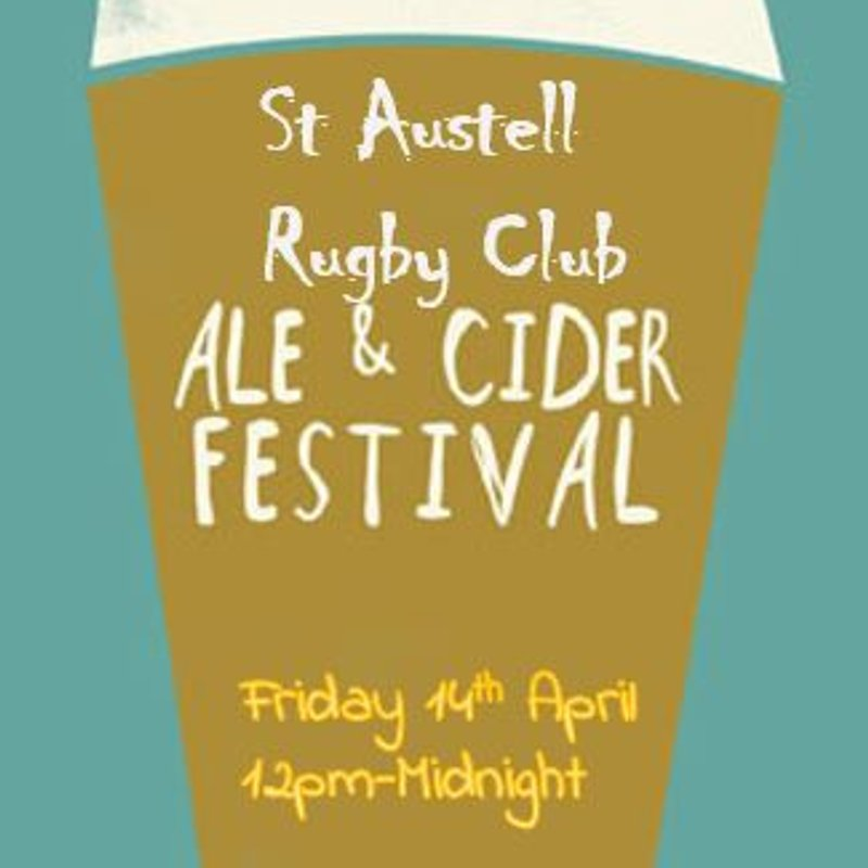 UPDATED - St Austell Rugby Club Ale & Cider Festival