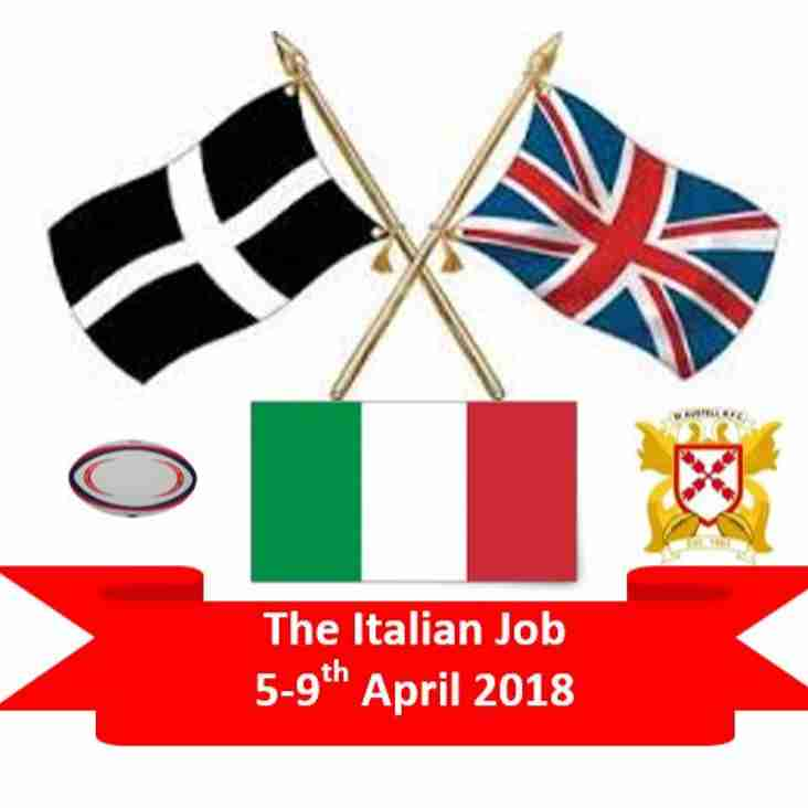 Italian Job - Sizes Needed