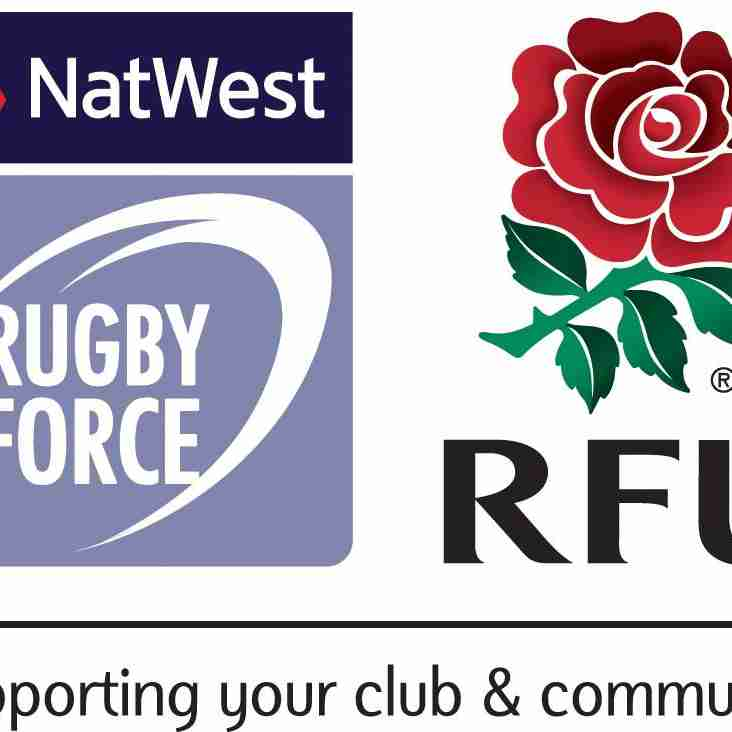 UPDATED - Nat West Rugby Force Day - 25th June 2017