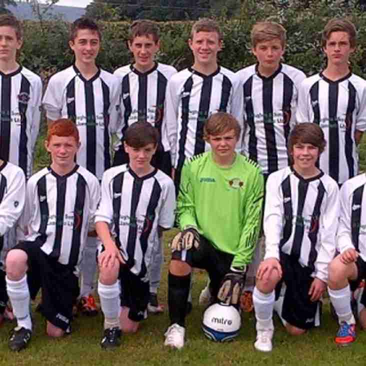 Under 14's players represent North Wales