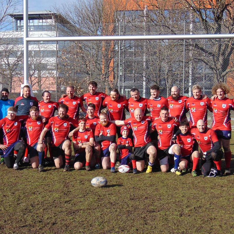 Mens lose to Nuremburg II 14 - 30