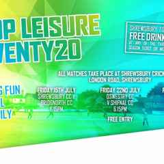 Free drink or ice cream offer to fans supporting Salop Leisure T20 cricket tournament