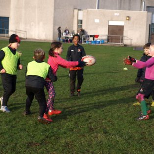 Saturday 8th Dec Training - Pass and then attack the space