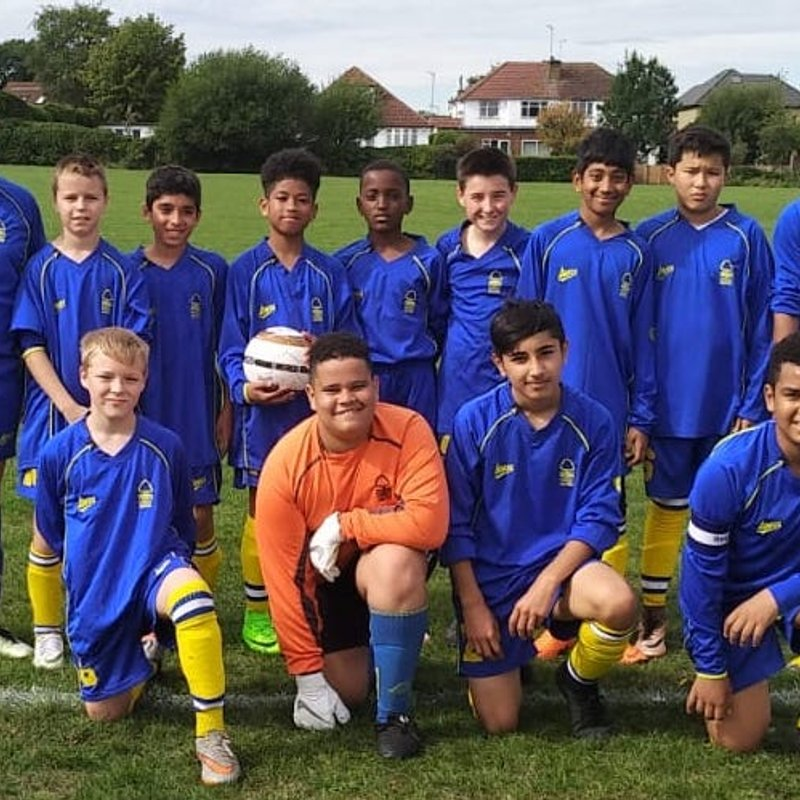 U13 lose to Wealdstone Youth White 1 - 4