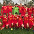U14 United (MJPL) lose to Lichfield Round Table White 2 - 0