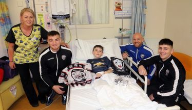 Hereford Pull Out All The Stops For Young Fan Callum