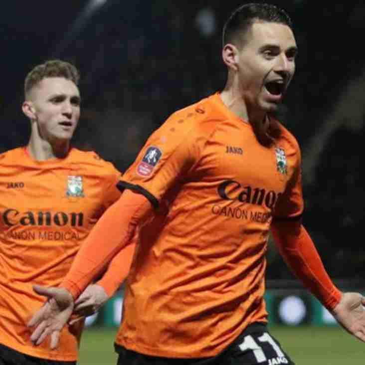 Barnet's Bright Sparkes Wins BBC FA Cup Goal Gong
