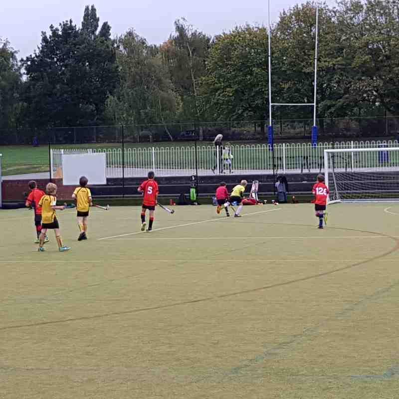 BEHC Boys U10 - 141018. vs Marden, Sevenoaks, TW