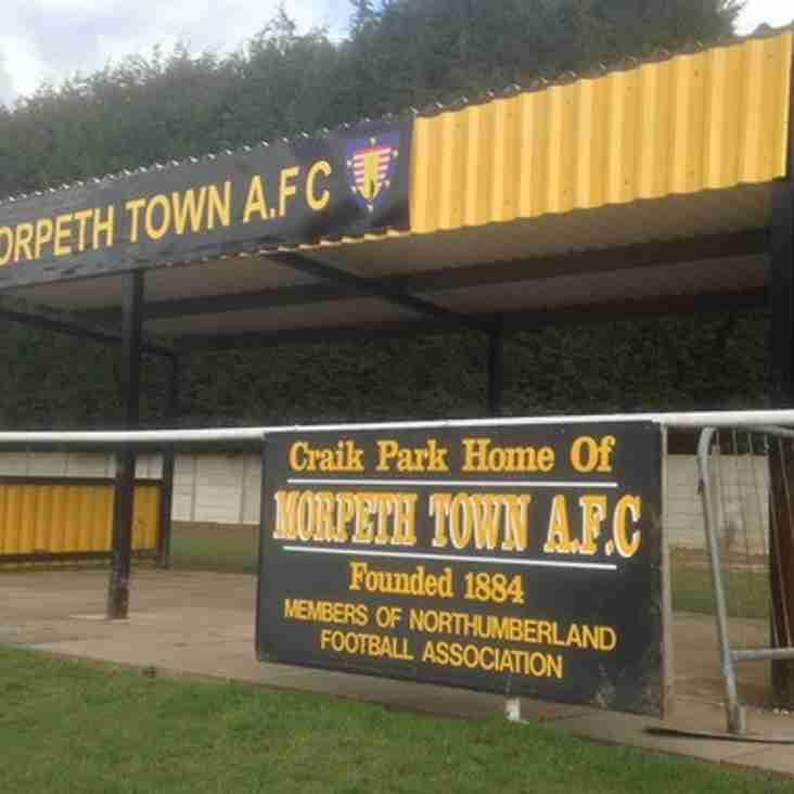 Morpeth set club record crowd