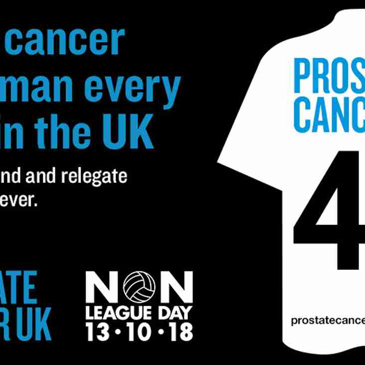 Back Prostate Cancer UK on Non-League Day