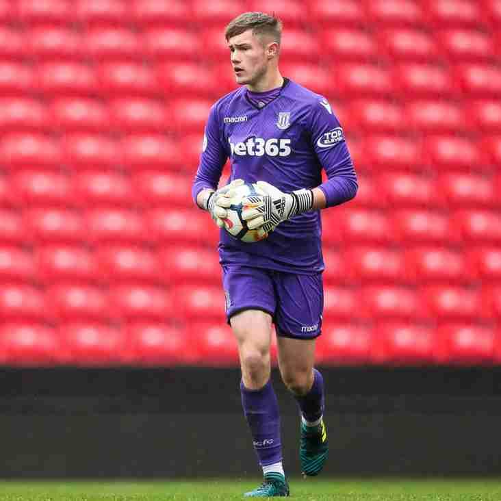 Hednesford stopper starts for England U19s
