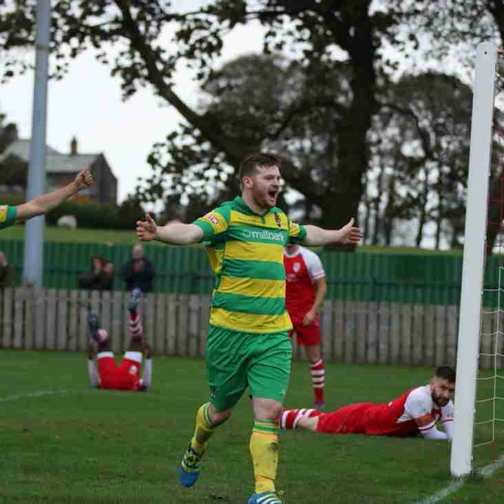 West Round-up: Goals galore in three games