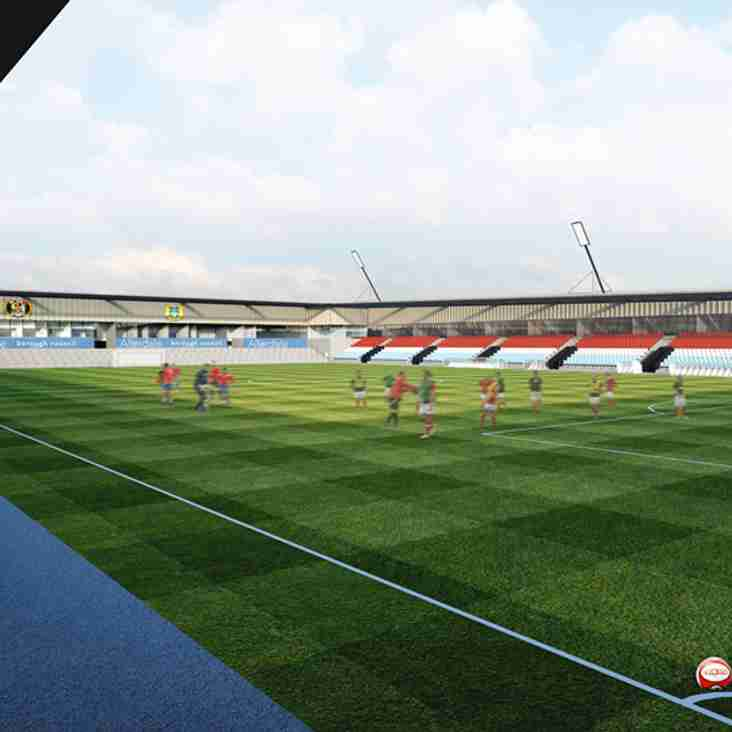 Workington stadium plans unveiled