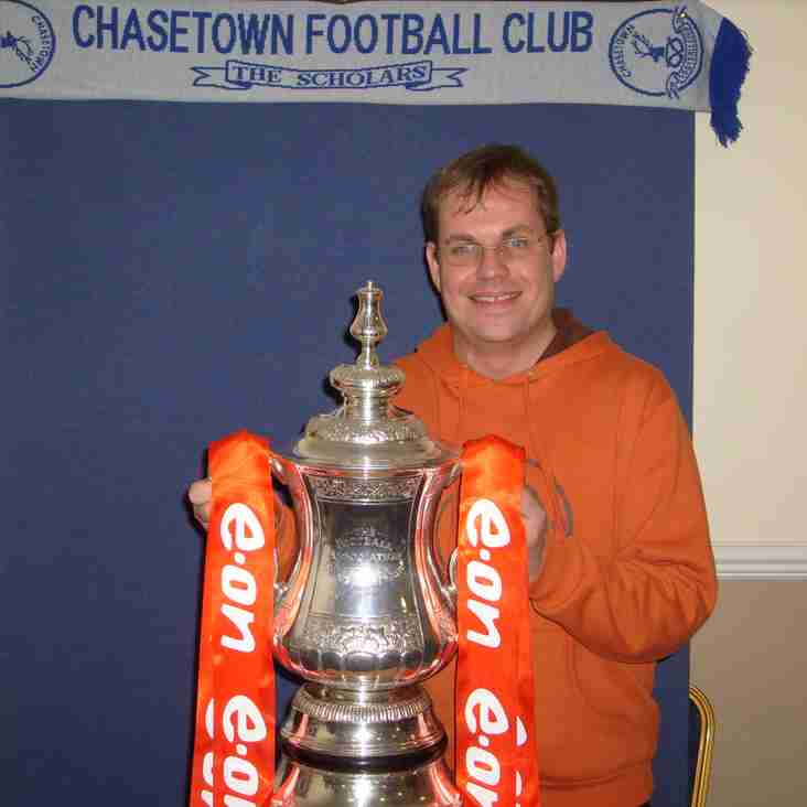 Chasetown fan hits 10 year milestone without missing a game!