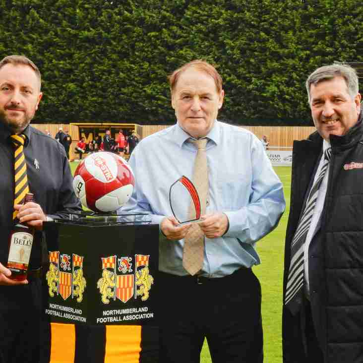 Morpeth receive club of the month award