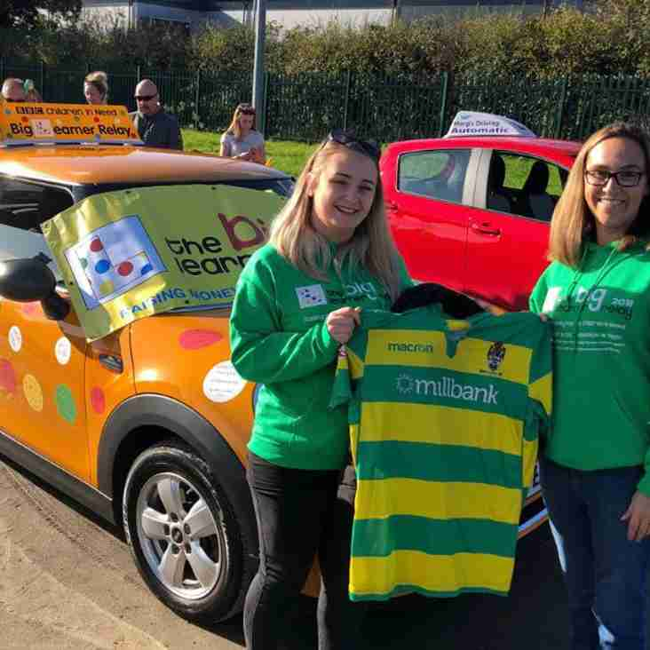 Runcorn Linnets support Big Learner Relay for Children in Need