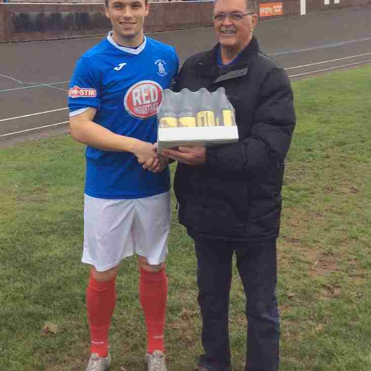 Bowland Brewery Player of the Month awards