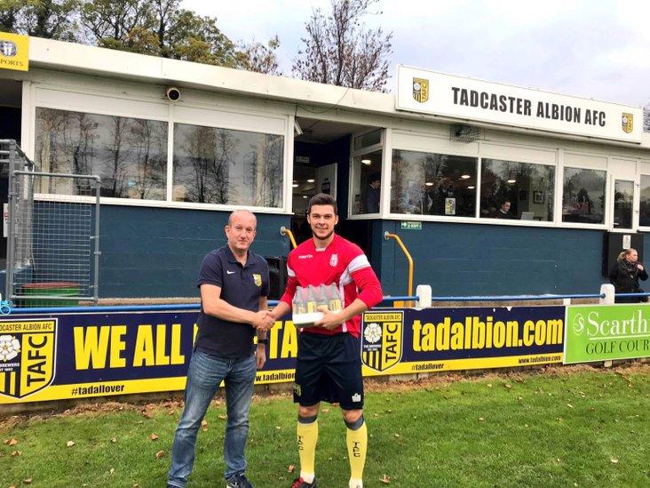 Tadcaster Albion's Harry Coates
