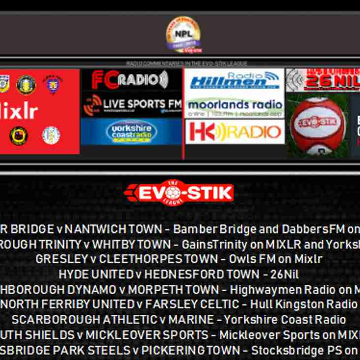 Saturday's live commentaries
