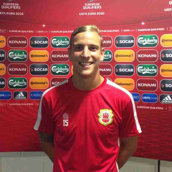 Priestley scores first international goal