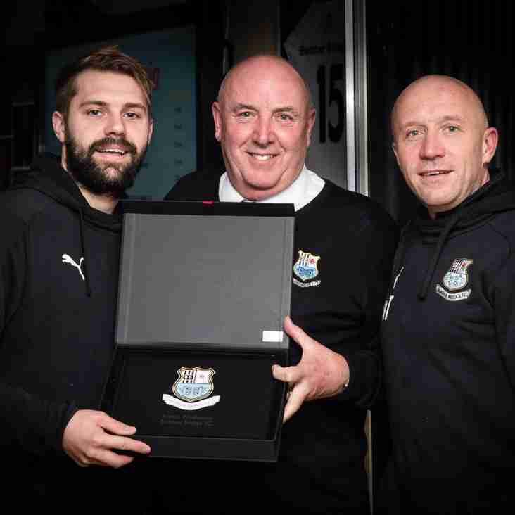 Waddecar honoured for reaching 400 Brig appearances