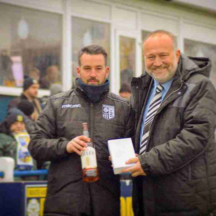 Tadcaster receive Club of the Month award