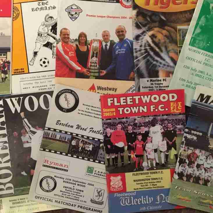 Calling all programme collectors!