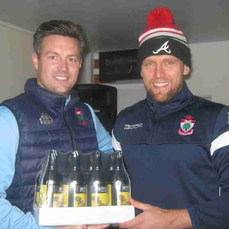 Thornton lands Bay's Player of the Month award