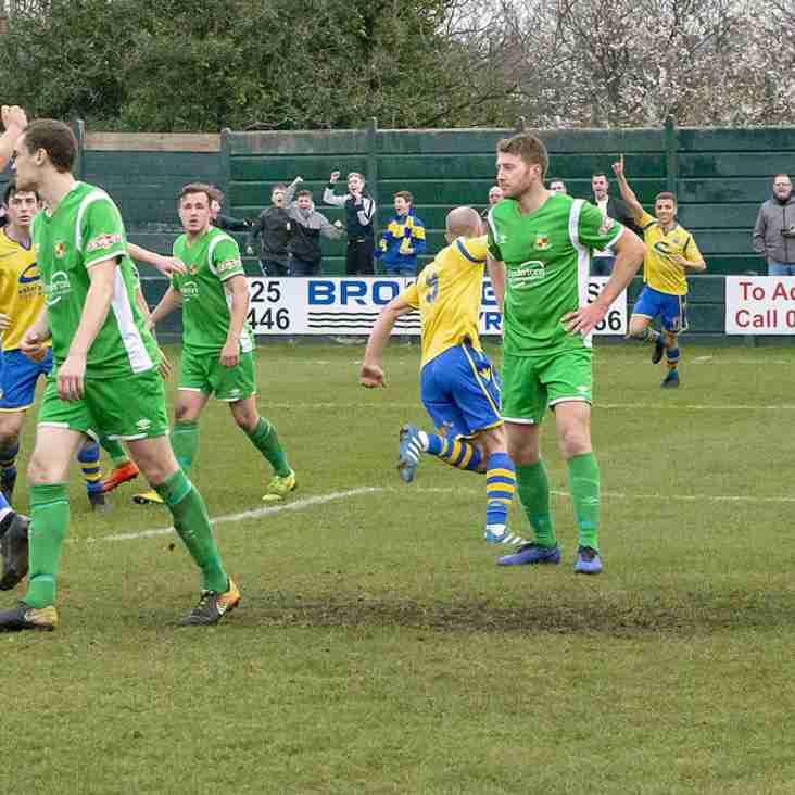 Premier Round-up: Late goal puts Warrington top
