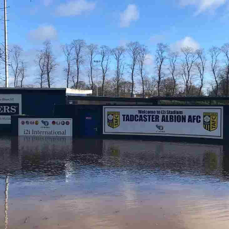 Tadcaster start crowdfunding after flood damage